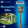 Outdoor LED Solar Pest Control Mosquito Zapper Repellent Garden Light
