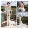 Side Split Mermaid Lace V-Neck Bridal Gowns Wedding Dresses Z8013