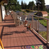 WPC Outdoor Decking Flooring for Garden Plank (TW-02)