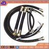 Wire Braided Reinforcement Rubber Hydraulic Rubber Hose