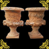 Europe Antique Design Stone Carved Urn