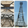 35m Hot DIP Galvanized Lattice Angle Steel Telecommunication Tower
