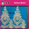 Fashion Elegant Beaded Bridal Lace Trim for Decoration