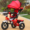 2017 New Children Tricycle Kids Tricycle Baby Tricycle 3 in 1