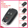 Auto Remote Key Shell for Buick with (4+1) Buttons