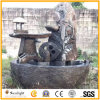 Natural Chinese Granite Marble Stone Fountain for Outdoor Garden & Landcaping