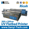 2m*3m Large Format UV Flatbed Printer Machine for Glass