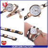 Yxl-348 2017 Women Bracelet Watch Crystal Round Dial Luxury Wrist Watch for Women Dress Gold Ladies Casual Lady Watch