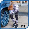Fashion Split Printed Tight Woman Sports Pants