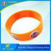 Professional Customized Printed Silicone Rubber Bracelets for Activity (XF-WB18)