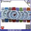 Yxl-166 Fashion Quartz Canvas Watches Sports Pen Watch Hand Vogue Wrist Watch Ladies Zebra Strap Dress Watches Factory