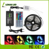 DC12V AC220V Flexible LED Strip Light 60 LED/Meter 5m/Roll LED Rope Light with Remote Controller