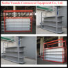 Multi-Function Supermarket Shelf for display Shelf and Storage Rack Combination