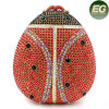 Top Selling Handwork Rhinestone Evening Bag Insect Style Crystal Bags Leb728