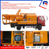 Pully Manufacture Truck Mounted Concrete Pump with 500 L Twin-Shaft Mixer for Sale in India (JBC40-L)