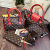 Wholesale-Leading-Supplier Women′s Leather Bag 1/2/3/4/5/6-Sets Fashion Ladies Tote Bag Handbags