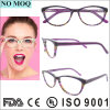 Hot Selling Fashion Women Acetate Optical Frame Colorful Eyewear