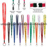 Custom Color Polyester Value Lanyards