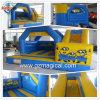 Kids Toys Moonwalk Slide Combo Inflatable Minions Bouncy Castle (MIJ-122)