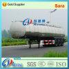 Tri Axles Stainless Steel 40cbm Fuel/Oil Tanker Semi Truck Trailer