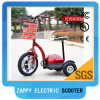 3 Wheel Electric Riding Scooter with Lazyback