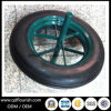 14X4 Inch Solid Rubber Tire Wheel for Wheelbarrow