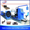 Kr-Xf All Pipe and Profile Cutter/ Plasma or Oxyfuel CNC Cutting Machine