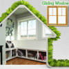 Popular Finished Aluminum Sliding Window with Double Glass, Hot Selling Gliding Windows with Double Glazed