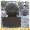 Stone Black Indoor and Outdoor Water Ball Fountain