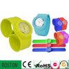 Crhistmas Quartz Colorful Silicone Slap Watch
