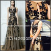 Fashion Prom Gowns Black Lace Vestidos Zuhairmurad Party Evening Dress (E13173)