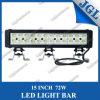 72W 15′′ 4X4 Offroad LED Work Light Bar Ce & RoHS
