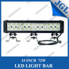 72W 15'' 4X4 Offroad LED Work Light Bar Ce & RoHS