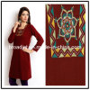 Women Red Embroidery Kurta
