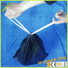 Black Drawstring Easy to Closed Plastic Trash Garbage Bag