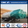 Cimc Huajun 2axle Chemical Liquid Aluminium Alloy Tanker