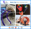 HDPE Single Wall Cod Pipe Making Machine / Plastic Corrugated Optic Duct Pipe Extrusion Machine