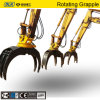 Komatsu PC200 Hydraulic Rotating Rock Grab