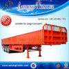 High Quality 3 Axles Side Wall Cargo Trailer for Sale