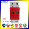 60ka 420V 2p 60A SPD Low Voltage Surge Protective Device