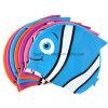 Fun Fish Shape with Printing Silicone Swim Caps