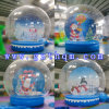 Inflatable Snowglobe Christmas Decorations/Inflatable Bubble Room Bubble Tent PVC