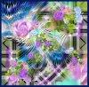 Beautiful Digital Printed Silk Scarf (F13-DP-0064)