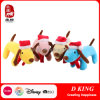 Plush Christmas Dog for Promotion Stuffed Toy