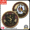 Customized 3D Antique Plating Zinc Alloy Material Coin