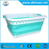 Oval Collapsible Laundry Basket Collapsible Basket