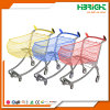 Powder Coating Supermarket Shopping Trolley
