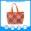 Functional Beautiful Tote Bag Beach Bag of Knit PU Material