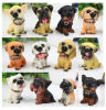 Statue Resin Animal 12 Dogs Toy Decoration Designers Simulation Home Garden Gift