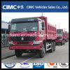 Sinotruk HOWO 6X4 336HP Red Color Dump Truck for Ethiopia